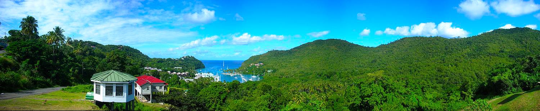 Bild von Marigot Bay auf St. Lucia