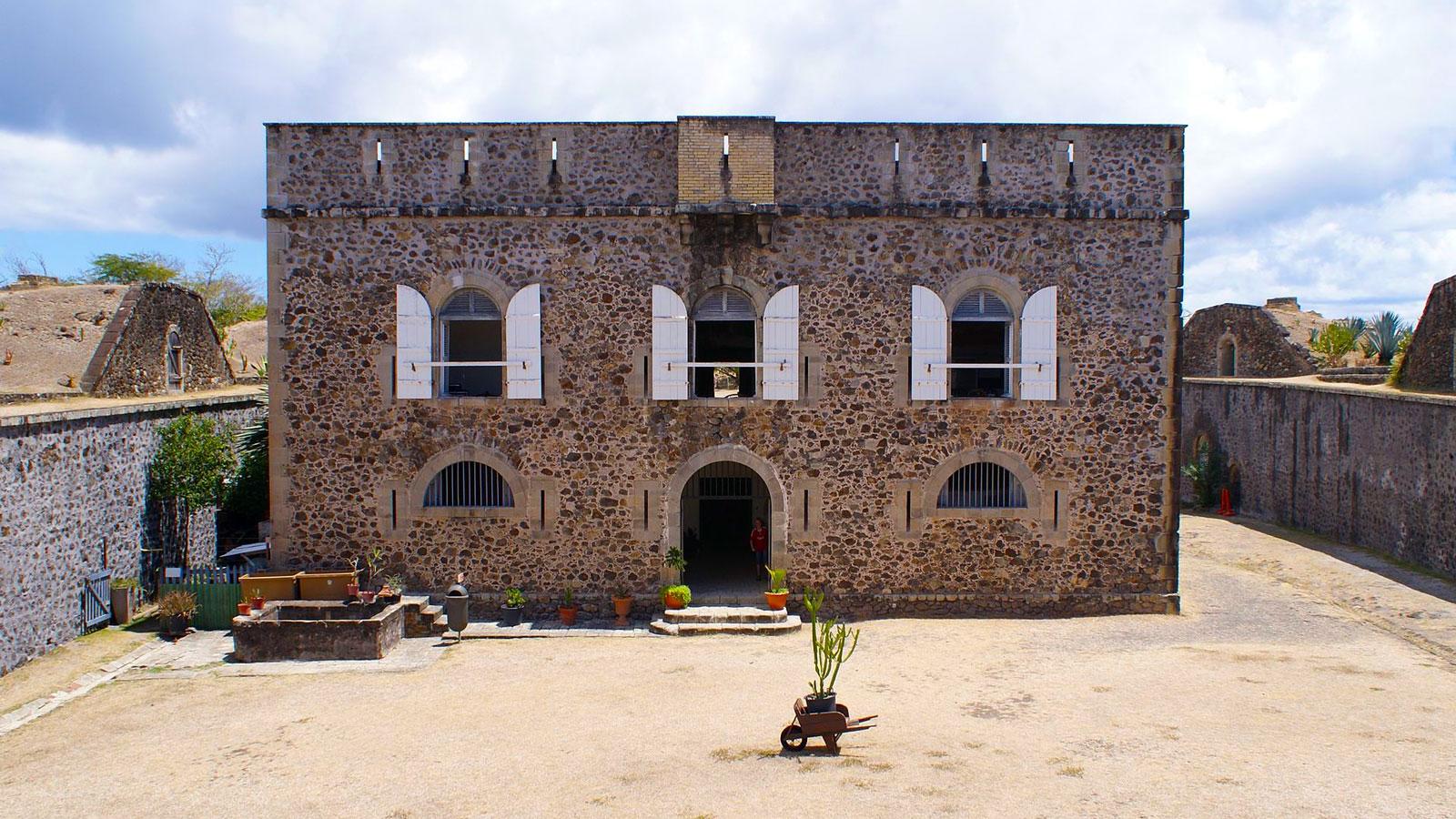 Bild vom Fort Napoleon des Saintes auf Guadeloupe