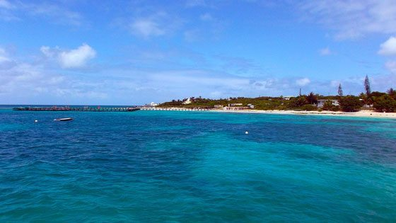 Bild vom Blowing Point Harbor auf Anguilla