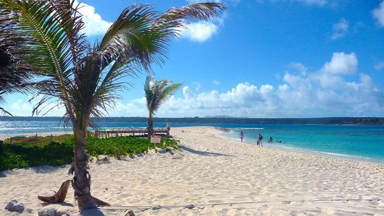 Bild von Sandy Island auf Anguilla