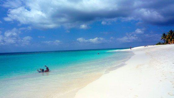 Bild vom Shoal Bay auf Anguilla