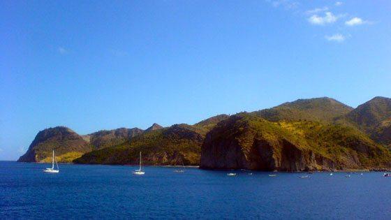 Bild der Küste von Montserrat