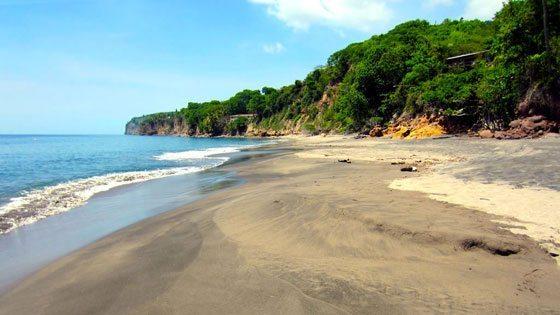 Bild vom Woodlands Beach auf Montserrat