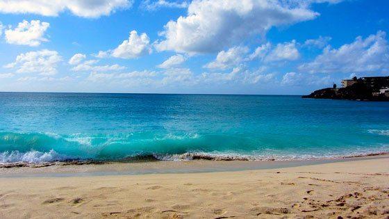 Bild vom Maho Beach auf Sint Maarten