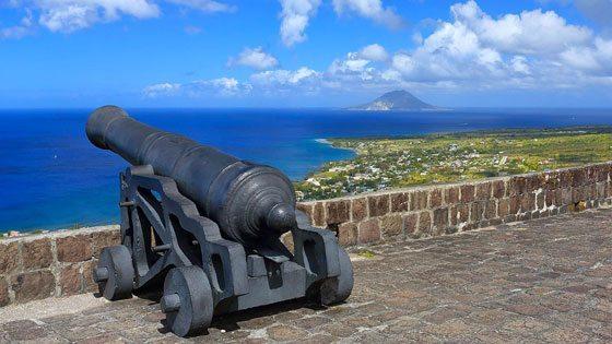Bild vom Brimstone Hill Fortress auf St. Kitts