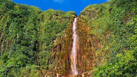 Bild der Carbet Wasserfall auf Guadeloupe