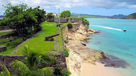 Bild von Fort James auf Antigua