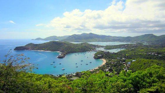 Bild der Shirley Heights auf Antigua