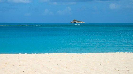 Bild vom Blick am Strand von Barbuda