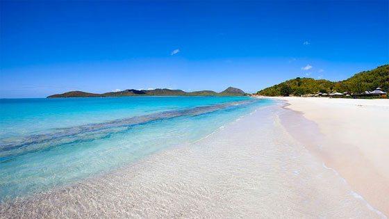 Bild vom Pano Beach auf Barbuda