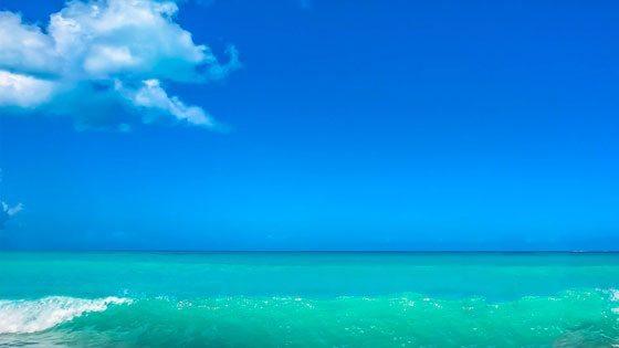 Strand auf Barbuda