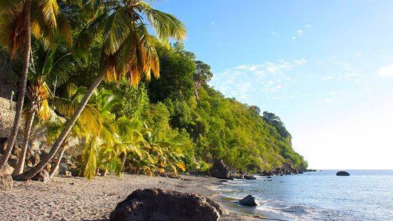 Bild vom Batalie Bay auf Dominica