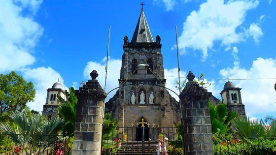 Bild der Our Lady of Fair Haven Cathedral auf Dominica