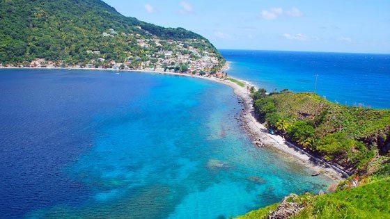 Bild von Scotts Head auf Dominica