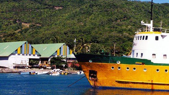 Bild vom Admiralty Bay in Port Elizabeth auf Bequia