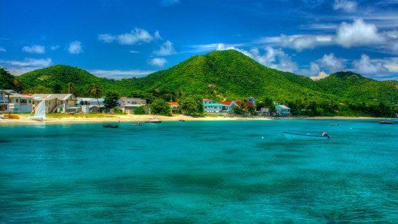Bild vom Hafen von Carriacou