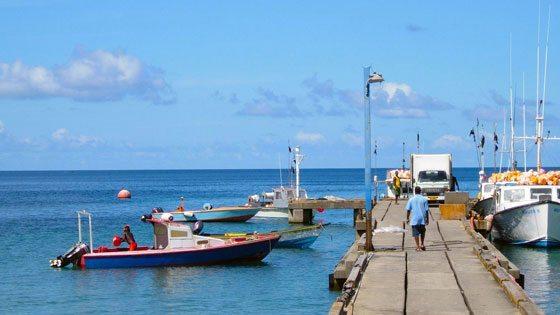 Bild von Fischern in Grenada