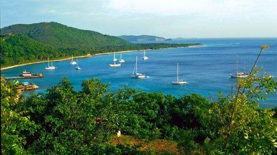 Bild von Britannia Bay auf Mustique