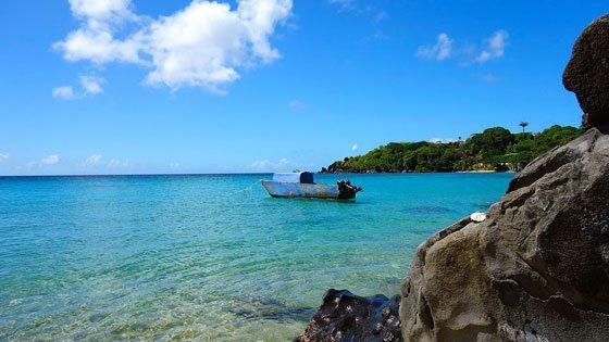Bild vom Indian Bay auf St. Vincent