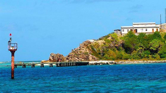 Bild vom Hafen auf Union island