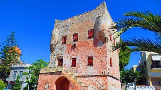 Bild von einem Alten Turm auf Aegina