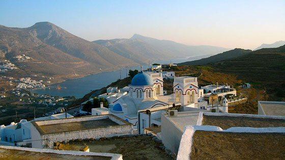 Bild einer Kirche auf Amorgos