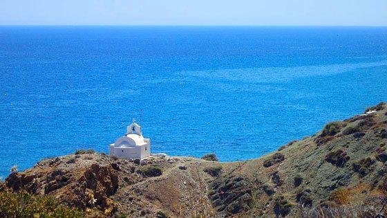 Bild der Kapelle Agioi Anargyroi auf Anafi