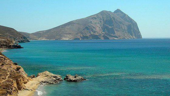 Bild vom Ausblick auf Kalamos auf Anafi