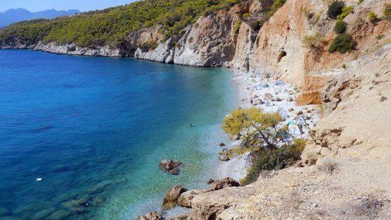 Bild vom Halikiada FKK Strand auf Angistri