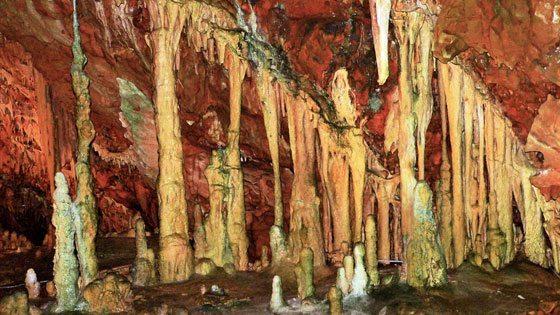 Bild von Stalakmiten & Stalaktiten in Diros Cave