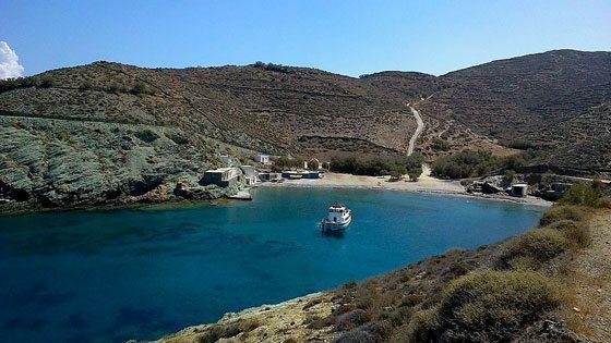 Bild vom Agios Georghios Beach auf Folegandros