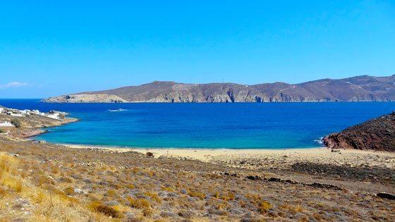 Bild vom Agios Sostis Beach auf Mykonos
