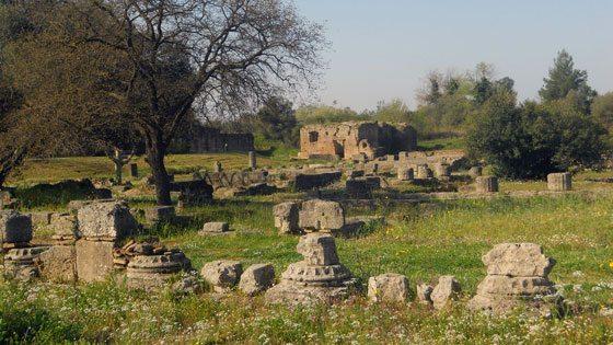 Bild von Ruinen in Olympia