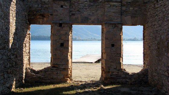 Bild vom Russian Bay auf Poros