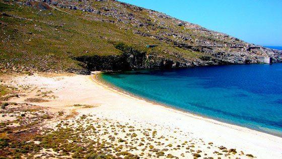 Bild vom Ganema beach auf Serifos