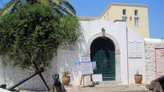Bild vom Museum der Bouboulina auf Spetses