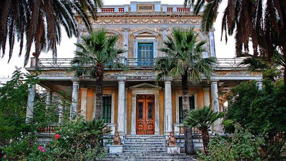 Bild einer Villa auf Spetses
