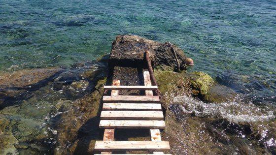 Bild vom Asteria Beach auf Syros