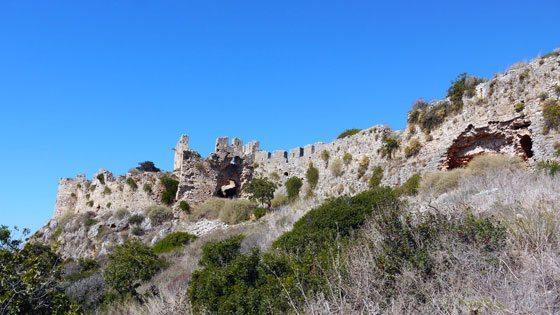 Bild von Palaiokastro in Westmessenien