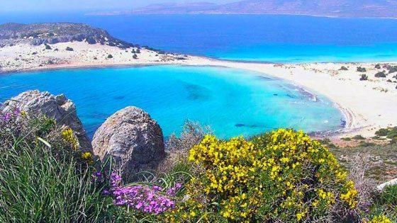 Bild vom Ausblick auf Elafonisos