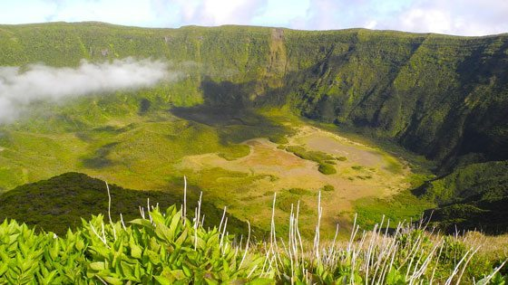 Bild vom Vulkan Caldeira