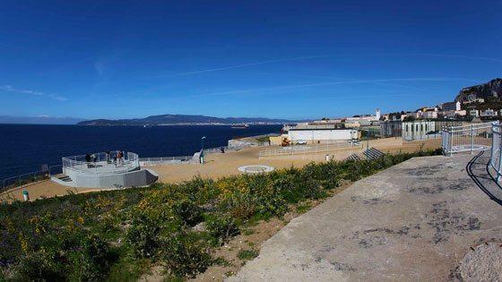 Bild vom Europe Point auf Gibraltar