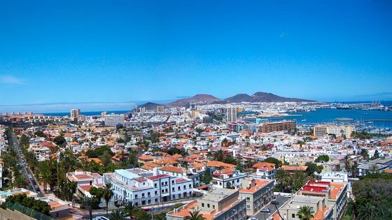 Bild von Las Palmas auf Gran Canaria