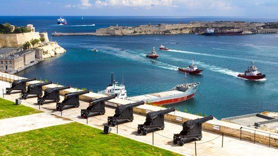 Bild der Barakka Gardens auf Malta
