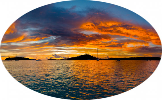 Erlebe mit SOS die schönsten Sonnenuntergänge der Windward Islands