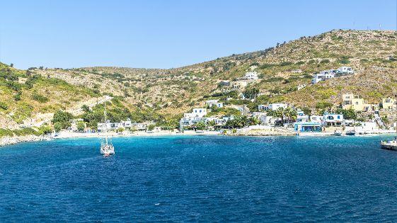 Bild einer Bucht auf Agathonisi